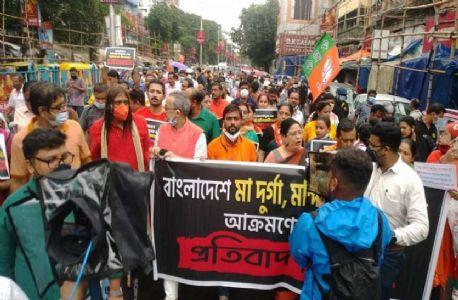 बांग्लादेश में हिन्दुओं पर हो रहे अत्याचार के विरोध में इस्कॉन के भक्त पूरे देश में करेंगे प्रदर्शन